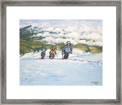 Three Amigos Framed Print by Erik Schutzman