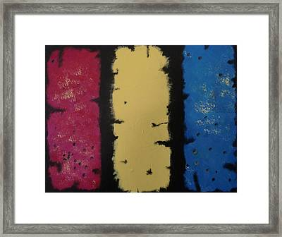 Three Amigos Framed Print by Gousalya Siva