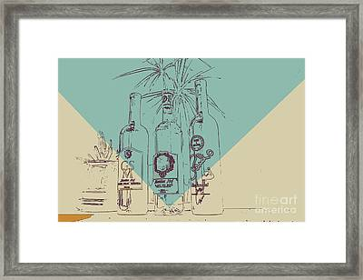 Three Amigos Framed Print by RJ Aguilar