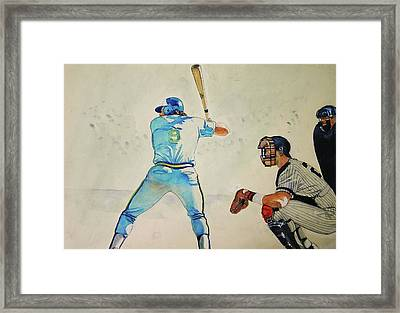 Three And Two Framed Print by Nigel Wynter