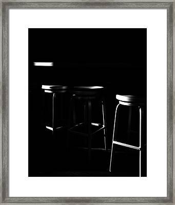 Framed Print featuring the photograph Three Barstool Sunrise by Bob Orsillo