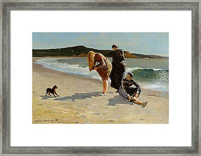 Three Bathers Framed Print