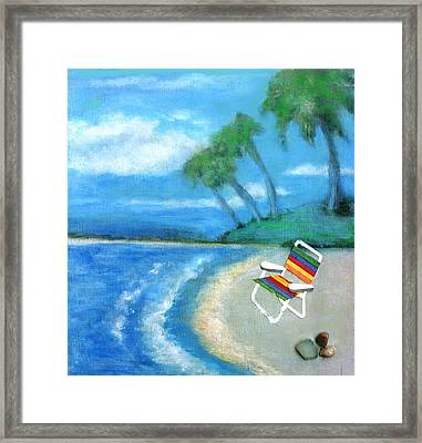 Three Beaches B Framed Print