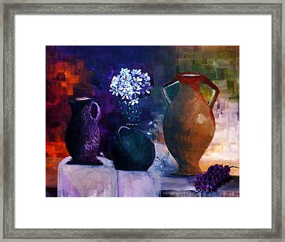 Three Best Friends Framed Print by Lisa Kaiser