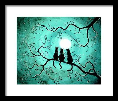 Dark Art Framed Prints