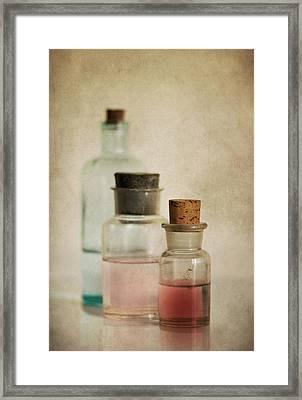 Three Colors Framed Print