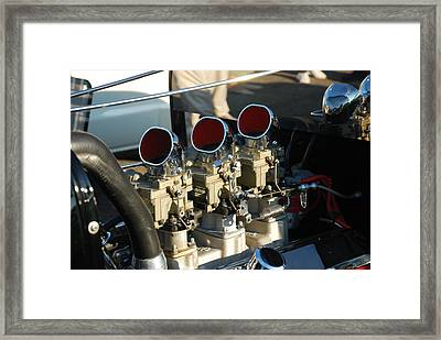 Three Deuces Framed Print by William Thomas