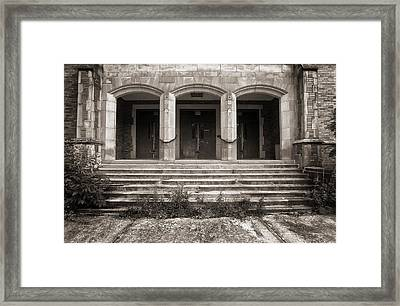 Three Doors Framed Print