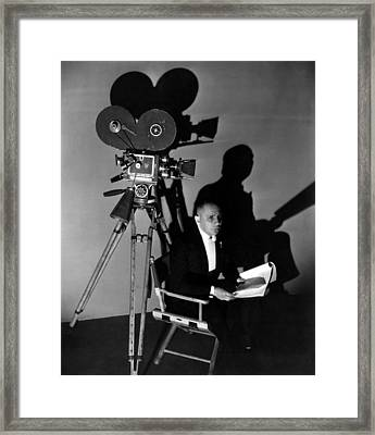 Three Faces East, Erich Von Stroheim Framed Print