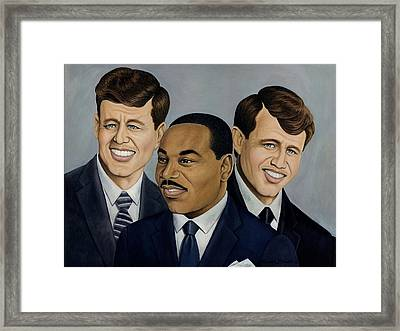 Three Fallen Soldiers   Framed Print by Henry Frison
