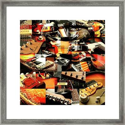 Three Fenders Framed Print by Robert Glover