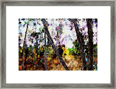 Three Fingered Tree Framed Print