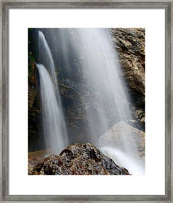Three Flows Framed Print by Kevin Munro