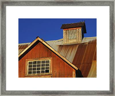 Three Friends. North Hero, Vermont Framed Print by George Robinson