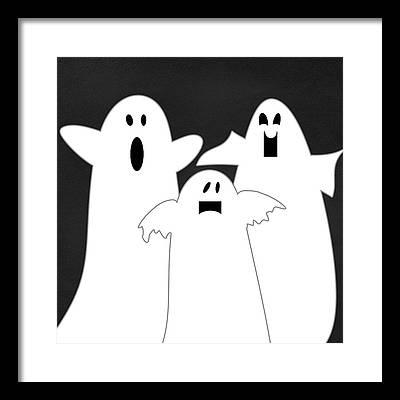 Ghosts Framed Prints
