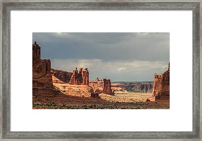 Three Gossips Framed Print by Joseph Smith