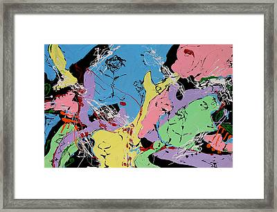 Three Graces 2 Framed Print by Wayne Salvatore