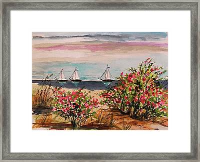 Three Heading Out Framed Print by John Williams