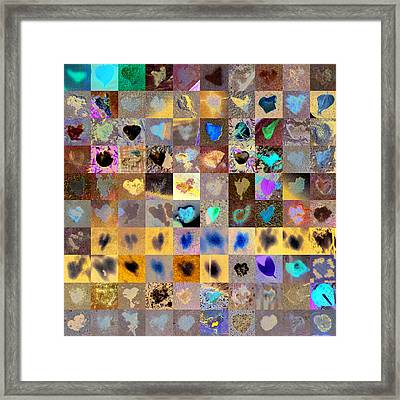 Three Hundred Series Framed Print by Boy Sees Hearts