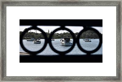 Framed Print featuring the photograph Three In One by John Knapko