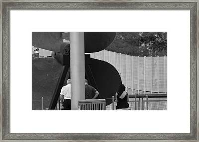 Three Is A Company Framed Print