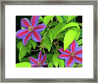 Framed Print featuring the painting Three Jacks by Patricia Griffin Brett