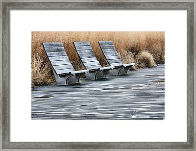 Three Framed Print by JC Findley