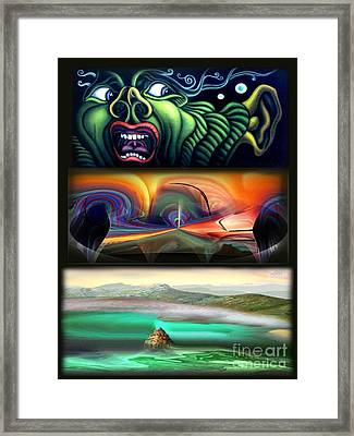 Three Kinds Of Memory Framed Print by Tighe O'DonoghueRoss