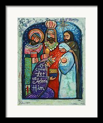 Star Of Bethlehem Framed Prints