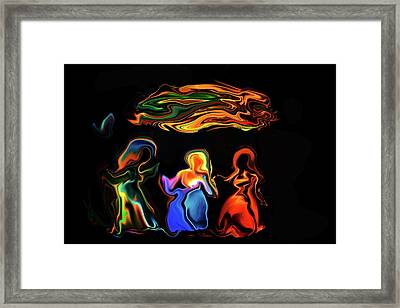 Three Ladies Framed Print