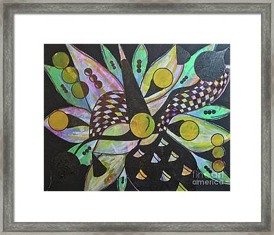 Three Framed Print by Laurie Cairone