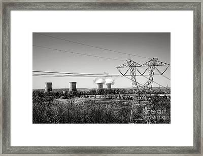 Three Mile Island Framed Print by Olivier Le Queinec