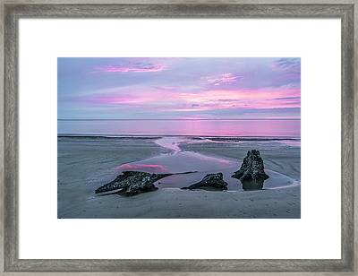 Three Minute Sunrise Framed Print