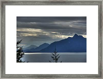 Three Mountains. Framed Print by Alexander Rozinov