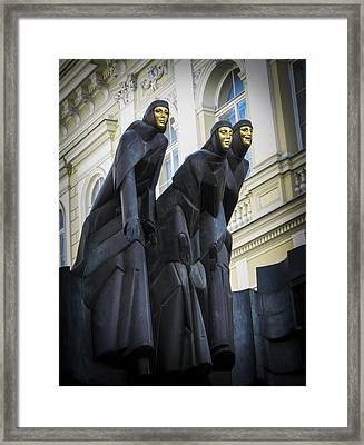 Three Muses - Calliope Thalia And Melpomene Framed Print