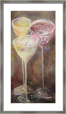 Three Night Out Framed Print