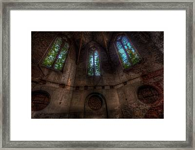 Three Not So Tall Arches Framed Print by Nathan Wright