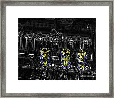 Three On A Board Framed Print by Jack Norton