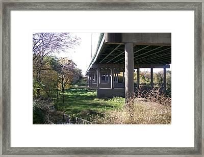 Three Pathways Framed Print