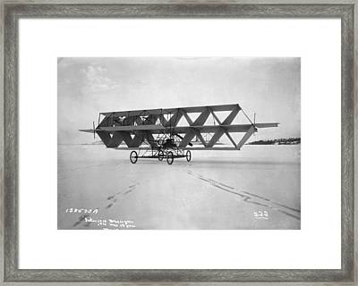 Three-quarter Frontal View Framed Print