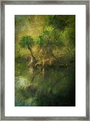 Three River Palms Framed Print by Marvin Spates