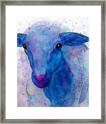 Three Sheep, 1 Of 3 Framed Print by Moon Stumpp