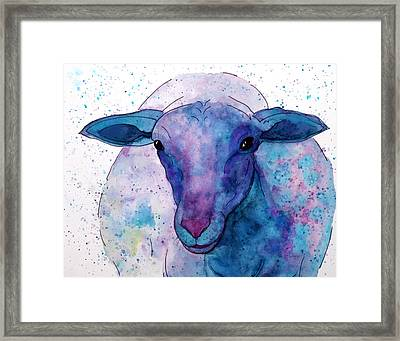 Three Sheep, 2 Of 3 Framed Print