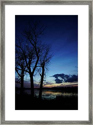 Framed Print featuring the photograph Three Sisters by Cricket Hackmann