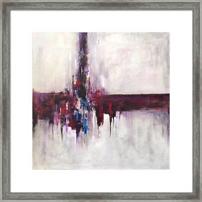 Three Square #2 Framed Print