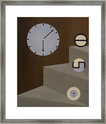 Three Stages Of Life Framed Print by Sandy Bostelman