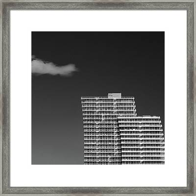 Three Steps To Heaven Framed Print by Dave Bowman