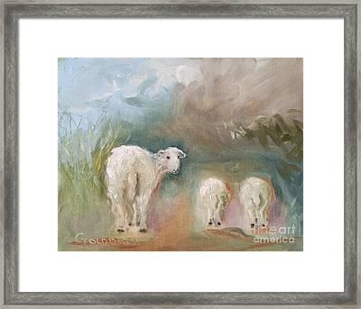 Three Tails Framed Print