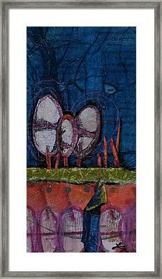 Three Trees Framed Print by Laura Lein-Svencner