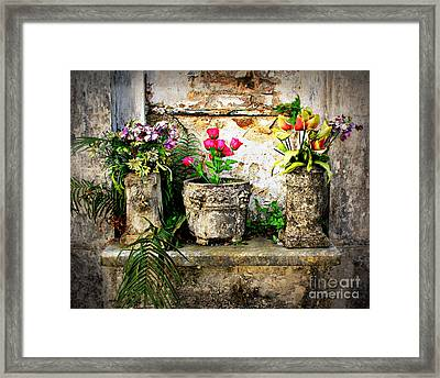 Three Vases Framed Print